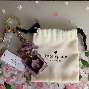 ‼️🎃SALE WAS 50$🆕kate spade Keychain/Purse Charm